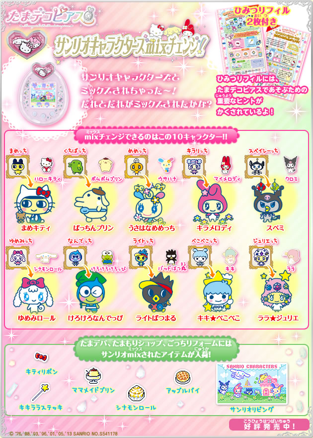 Pin Tamagotchi Character Chart Images To Pinterest
